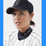 女子プロ野球の中島梨紗の可愛い画像
