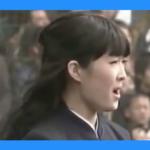 大学時代の野々村彩乃さんの君が代(国歌独唱)が2chなどで高評価!