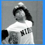 日大藤沢野球部の山本監督とメンバー(練習試合)。OBに金木・松原・小坂井